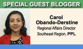 Special Guest Blogger Carol Obando-Derstine