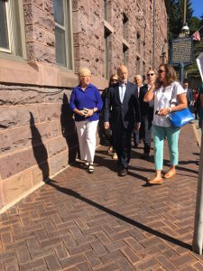 Governor visit