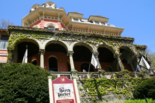 Cultural and historical attractions, like the Harry Packer Mansion, in Carbon County