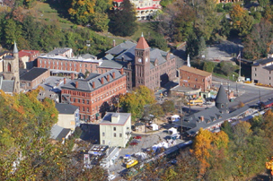 Downtown Jim Thorpe, PA