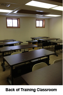 Back of CCEDC training classroom.