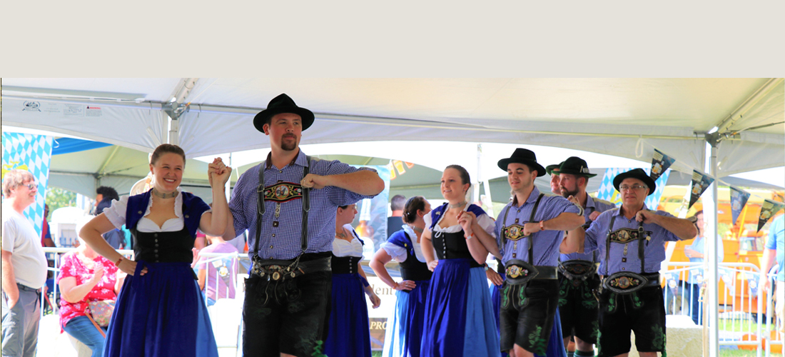 Dancers at Carbon County Oktoberfest at Blue Mountain Resort
