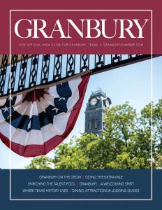 GranburyAreaGuideBluetoad_Cover_Page_001