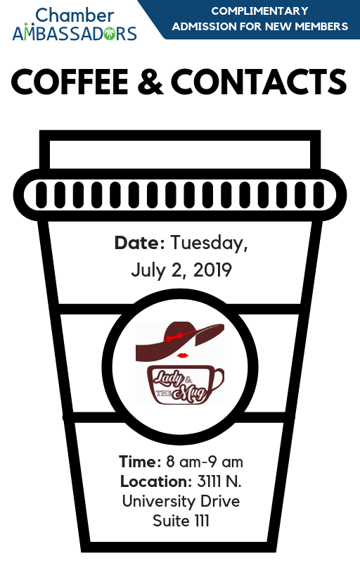 Coffee & Contacts July 19