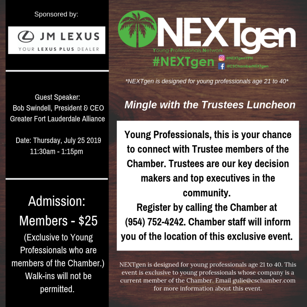 Mingle with the Trustees Luncheon