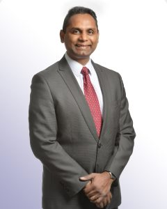 Rakesh Naidu, President & CEO