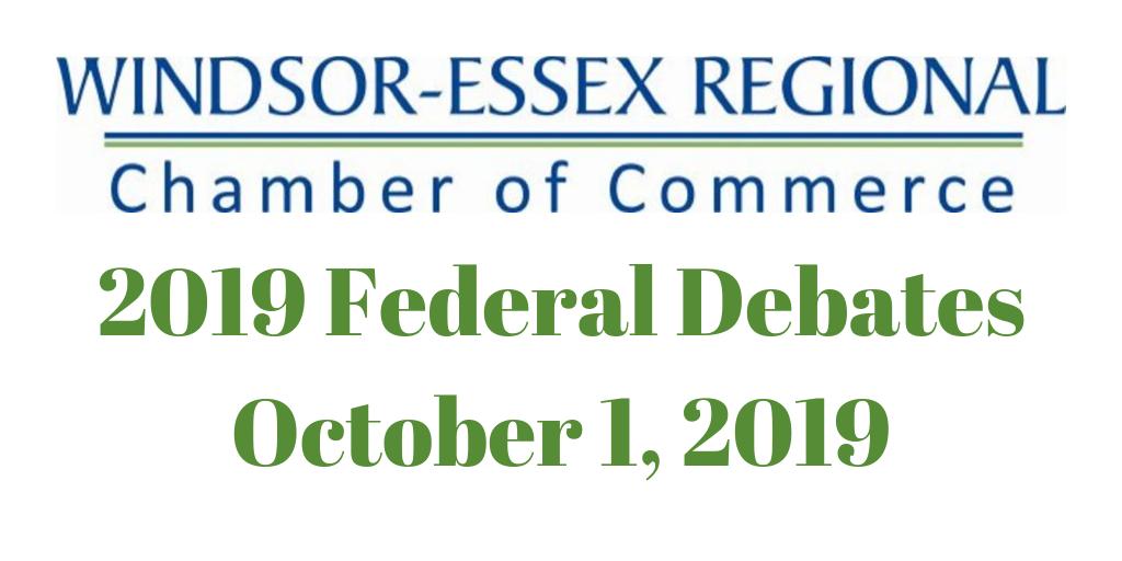 2019 Federal Debates