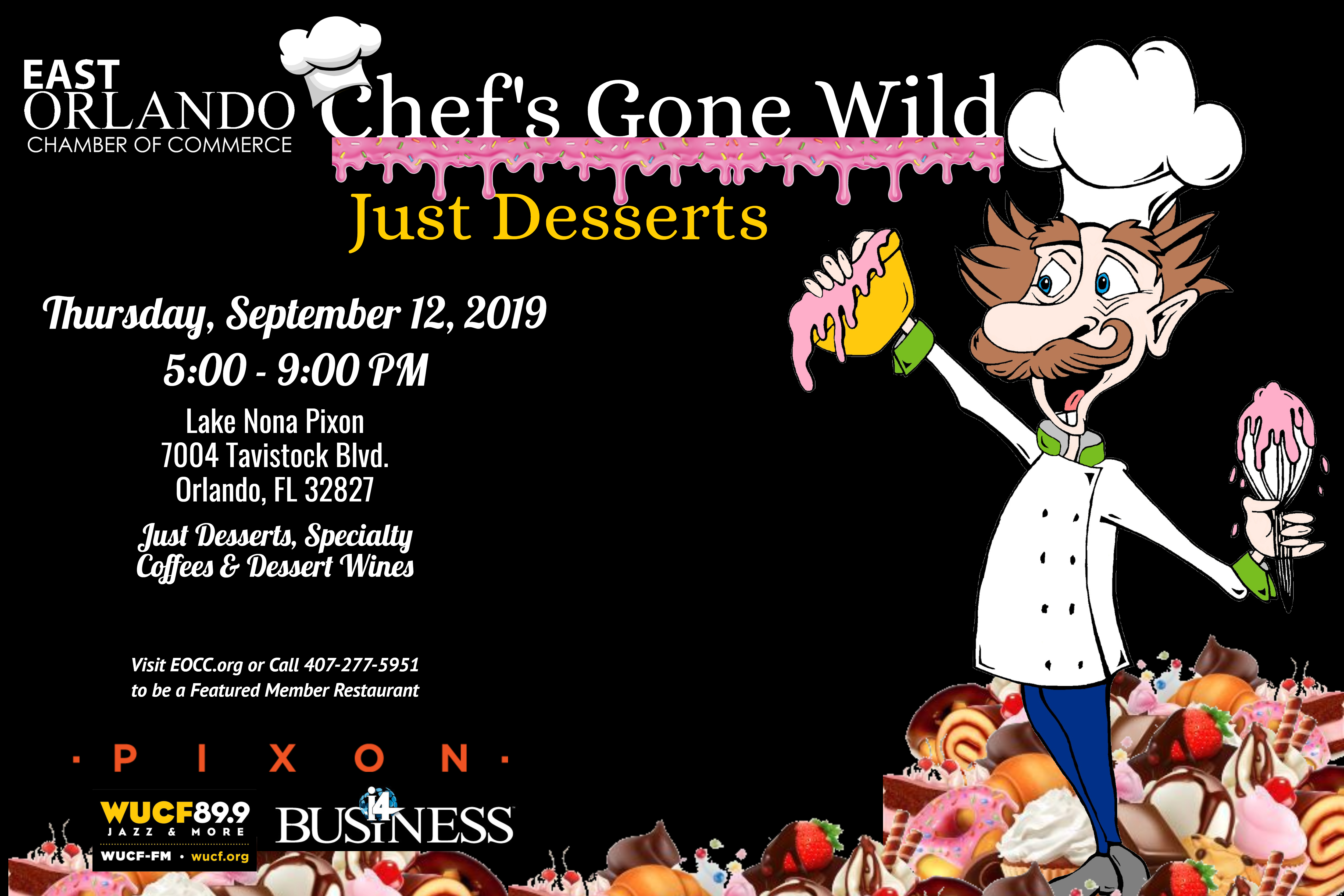 Chef's Gone Wild Flyer