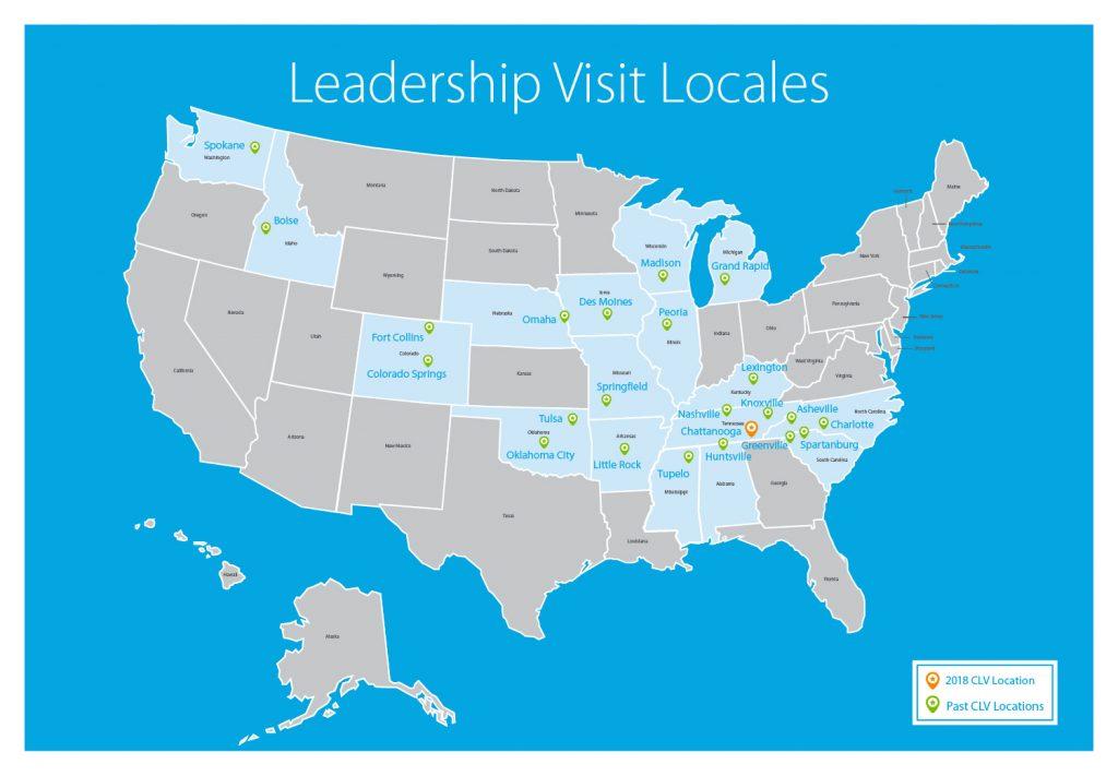 Leadership Visit Locales
