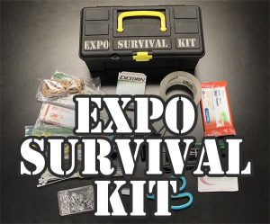 Put together your Expo Survival Kit