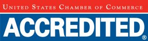 Accredited Chamber logo