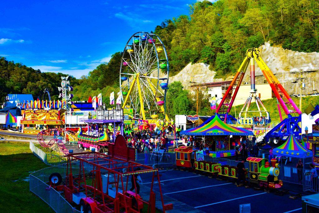 Hillbilly Days Festival Carnival