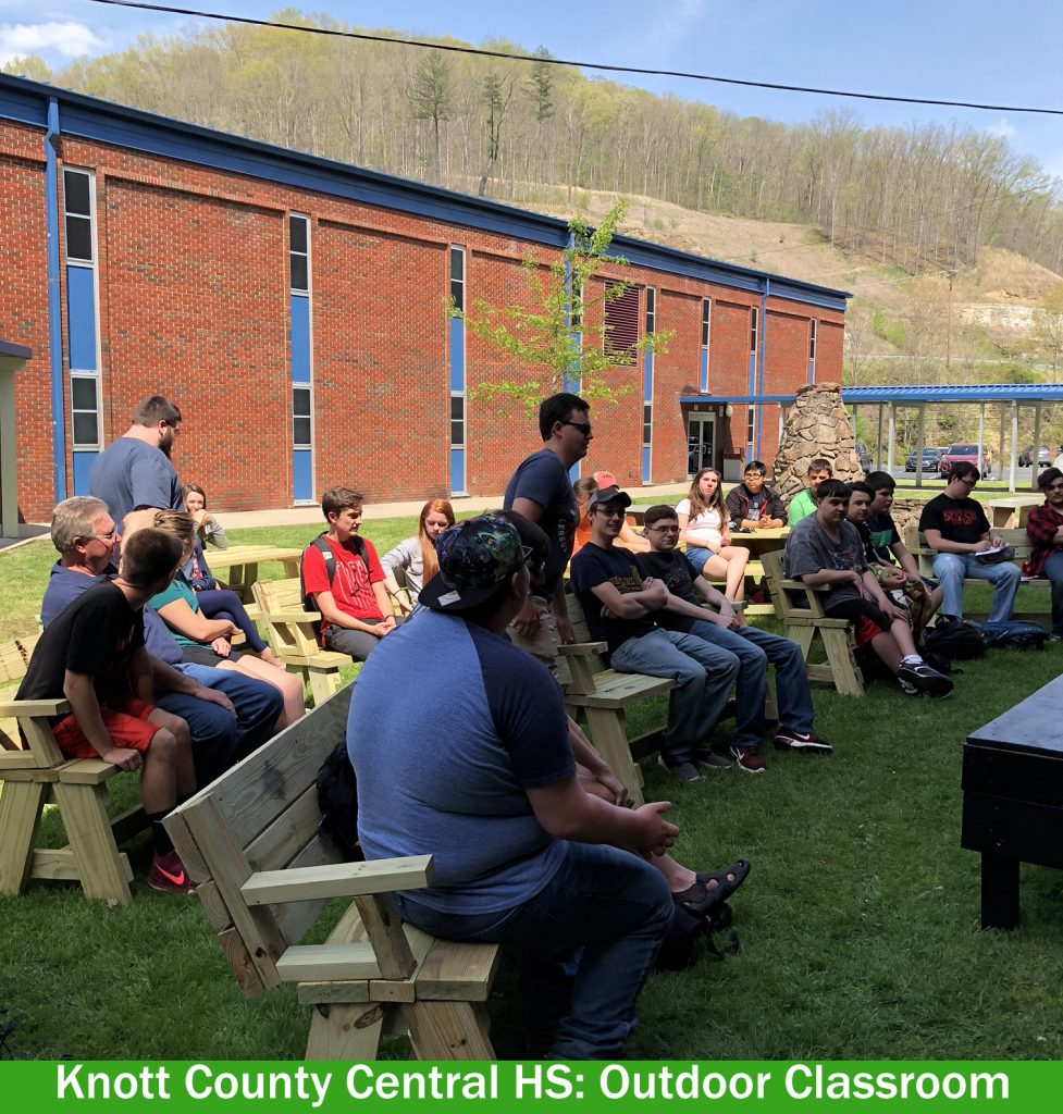 Knott County Central HS Outdoor Classroom