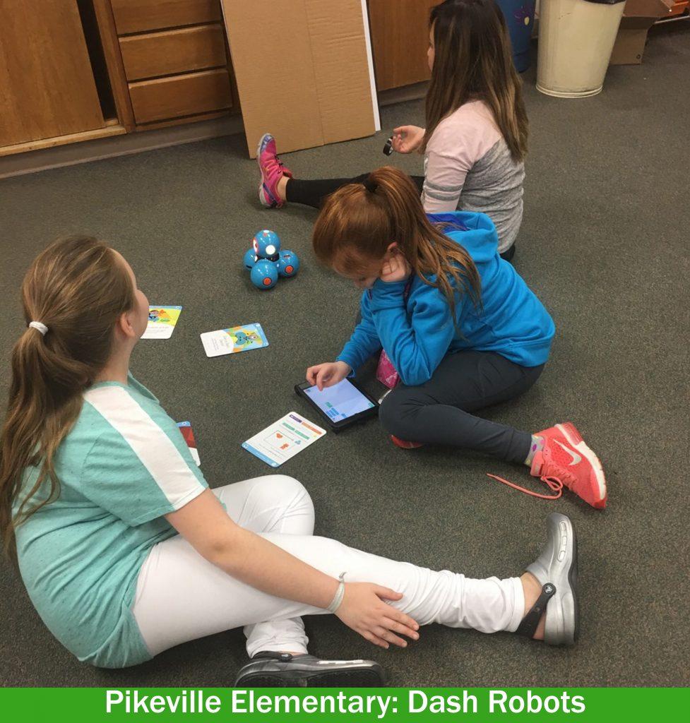 Pikeville Elementary Dash Robots