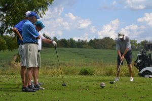 Golf Scramble Tee-Off