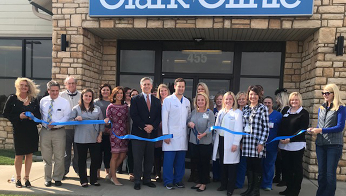 Grand Opening of Clark Clinic