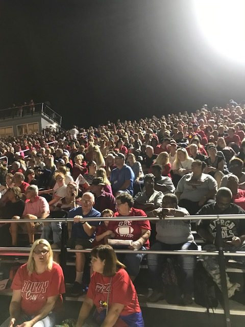 The New GRC Stadium Packed at Kickoff!
