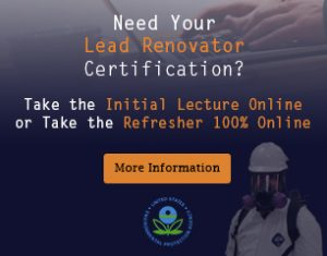 Lead Renovator Certification