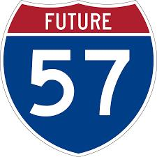 Future I57 Road Improvements