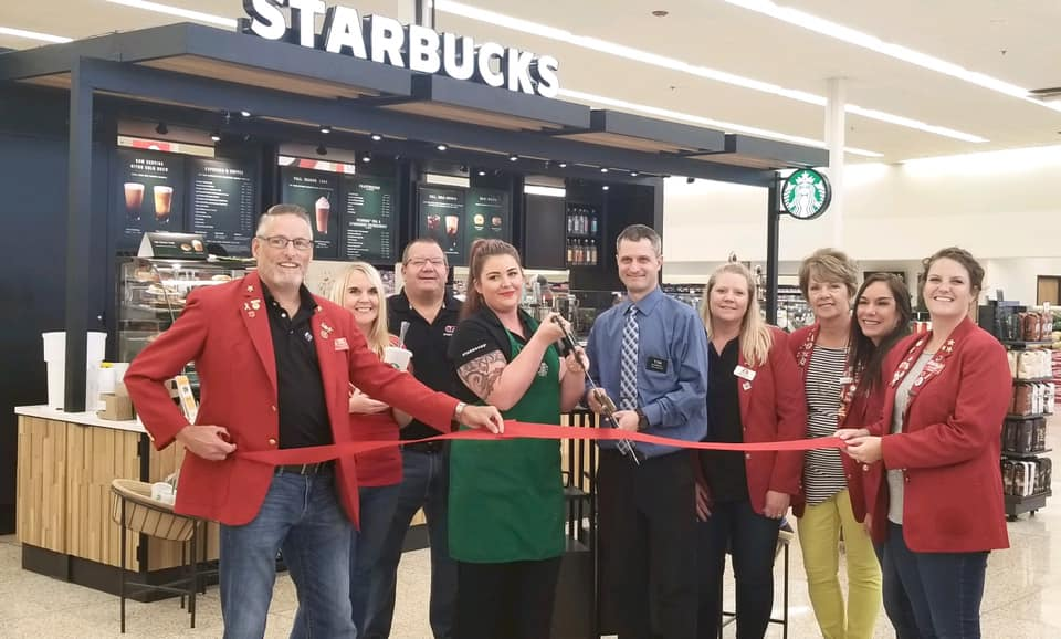 Hy-Vee Starbucks Ribbon Cutting