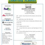 Day Session Agenda Mar