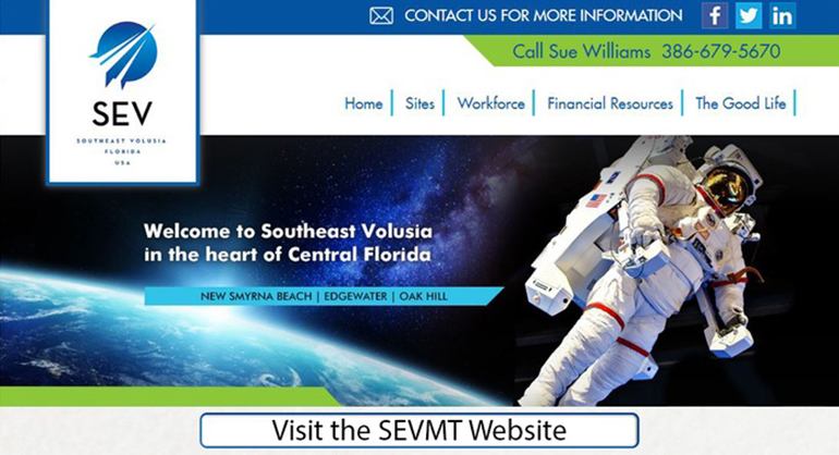 Southeast Volusia Marketing and Technology Website Link Image