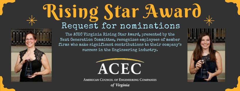 Rising Star Award Email Header