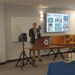 Bethlehem Town Supervisor David VanLuven at the Town's Economic Development event.