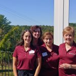 Some of the Chamber Staff and volunteers, left to right: Erica, Maureen, JoAnne and Liz.
