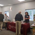 Bethlehem Chamber of Commerce table.
