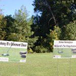 Some of our Tee sponsors - Johnny B's Glenmont Diner and Delmar Marketplace / McCarroll's The Village Butcher.