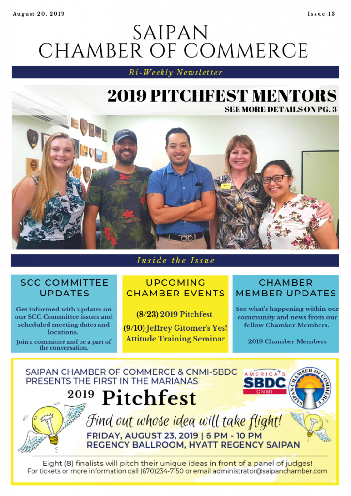 2019.13 Saipan Chamber of Commerce e-Newsletter (1)