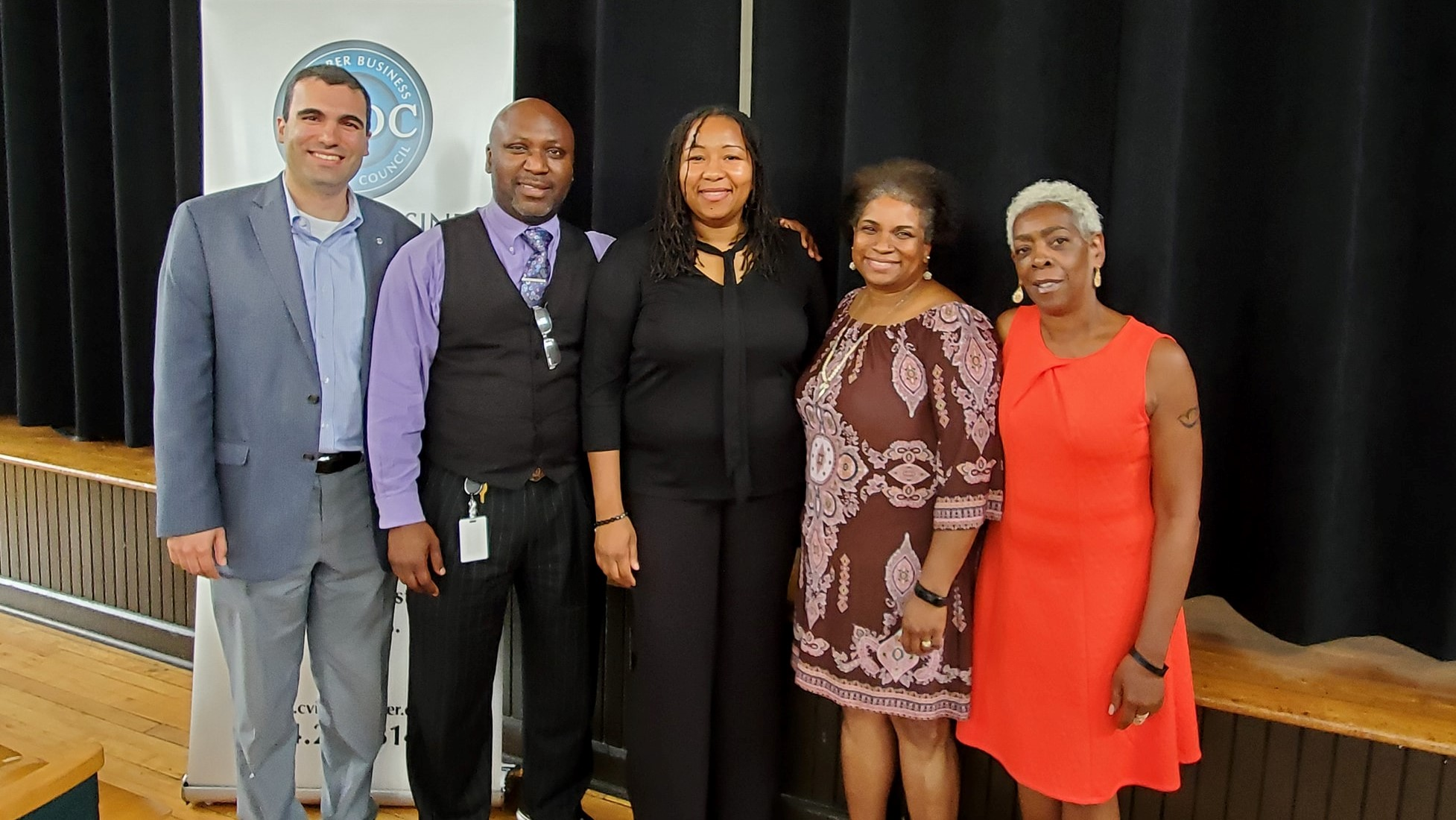 CBDC Executive Committee with Mayor Nikuyah Walker