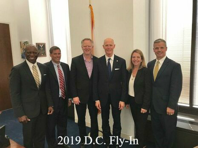 Members of the 2019 DC Fly-in