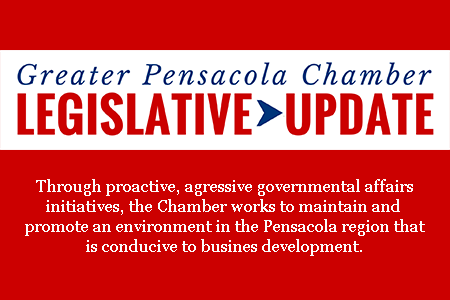 Pensacola Chamber Legislative Update Graphic