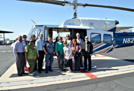 Leadership Class 32 on SRP Helicopter Tour