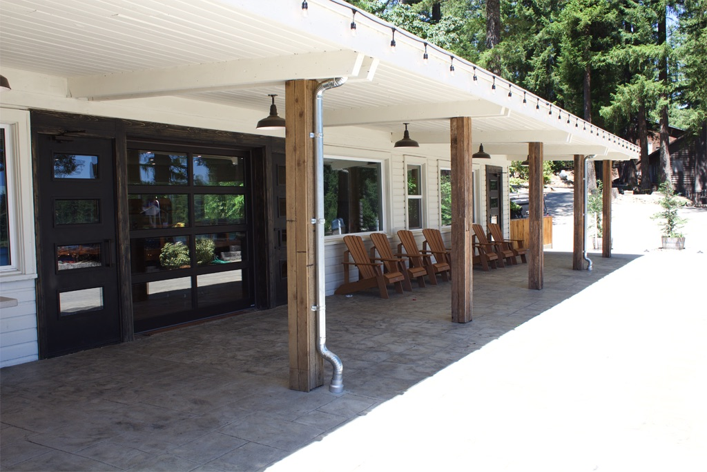 Front of Dining Hall