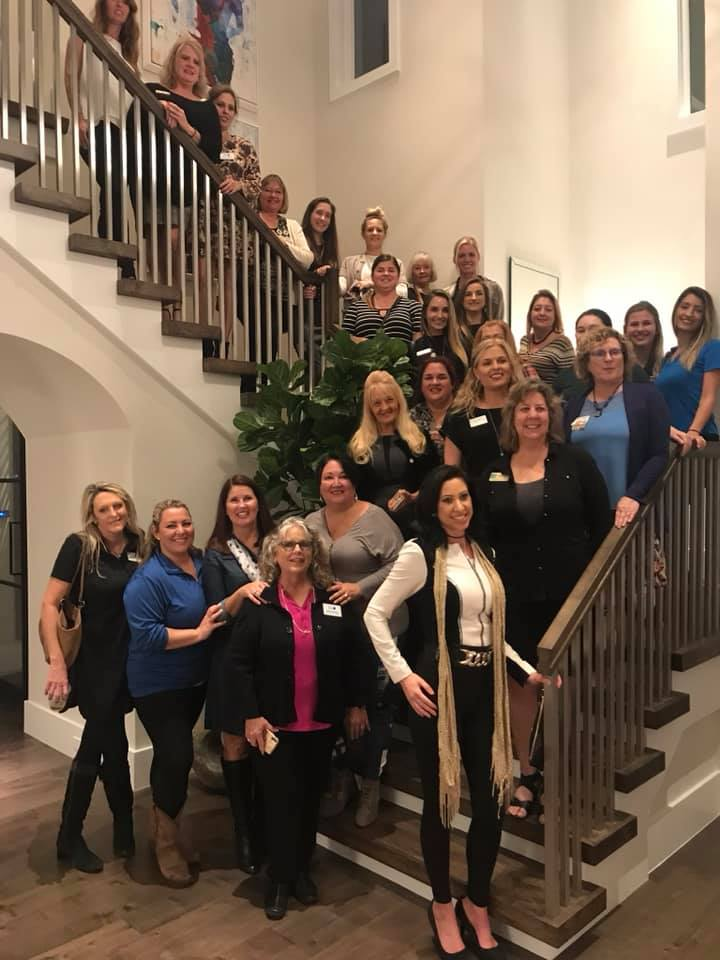 Professional Women in Building Group Photo