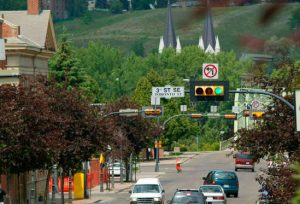 downtown Medicine Hat