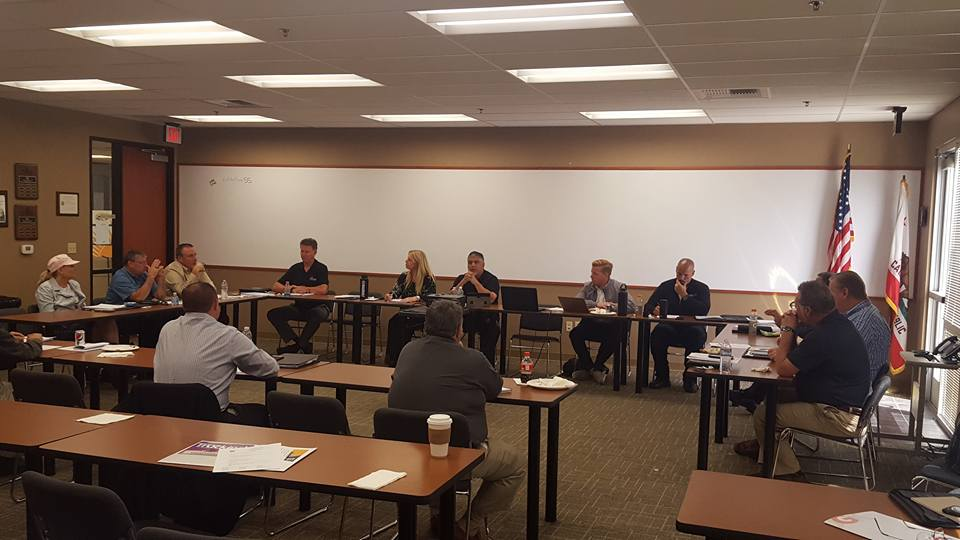 CTA's Allied Members Conference discuss issues during quarterly meeting.