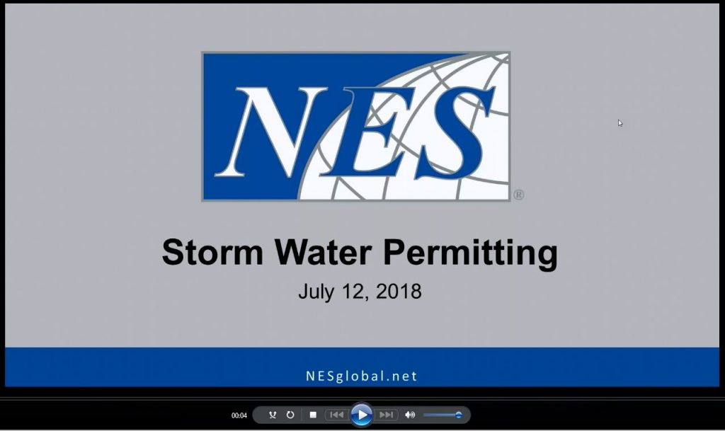 storm water webinar
