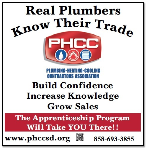 Real Plumbers Know Their Trade April 2013
