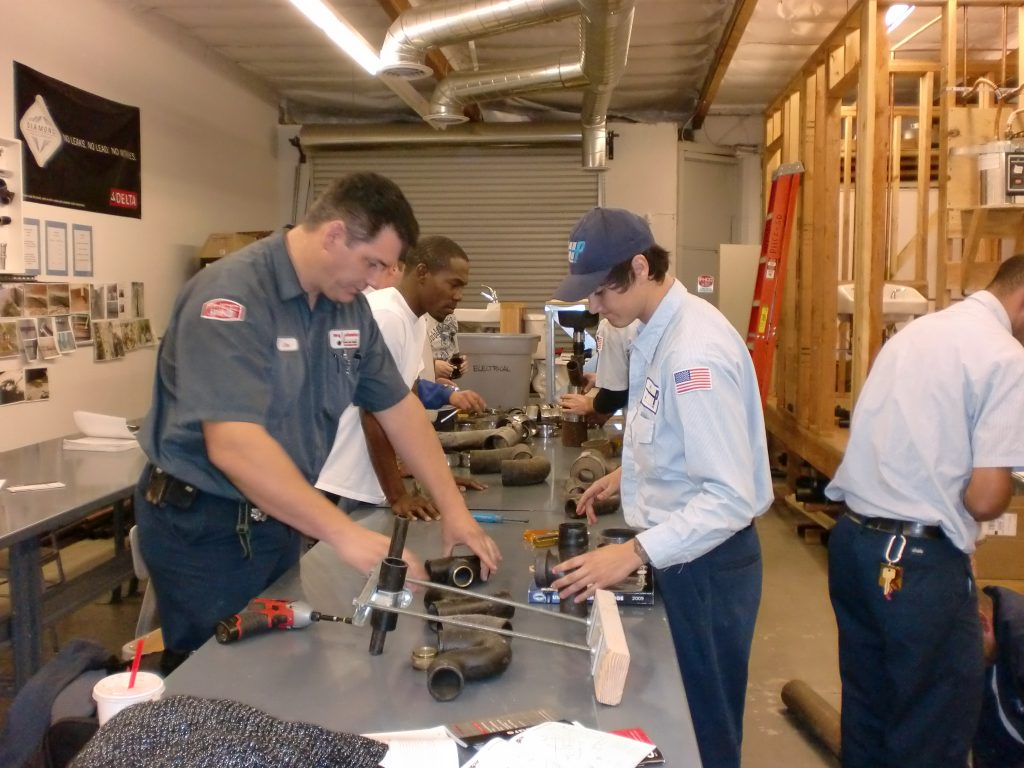 Plumbing Training Classes