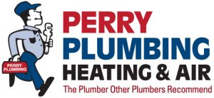 Perry Plumber Logo guy options3