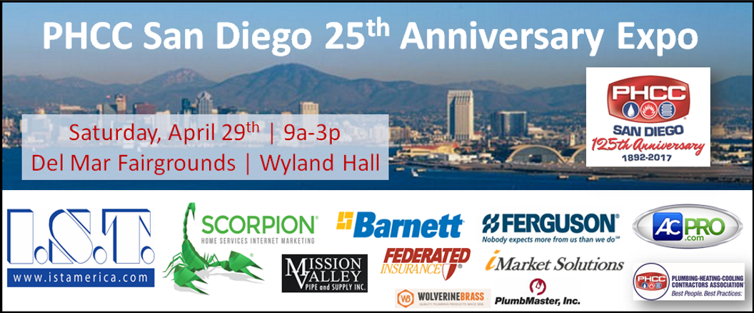 PHCC San Diego 25th Anniversary Expo