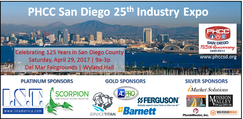 PHCC San Diego 25th Industry Expo