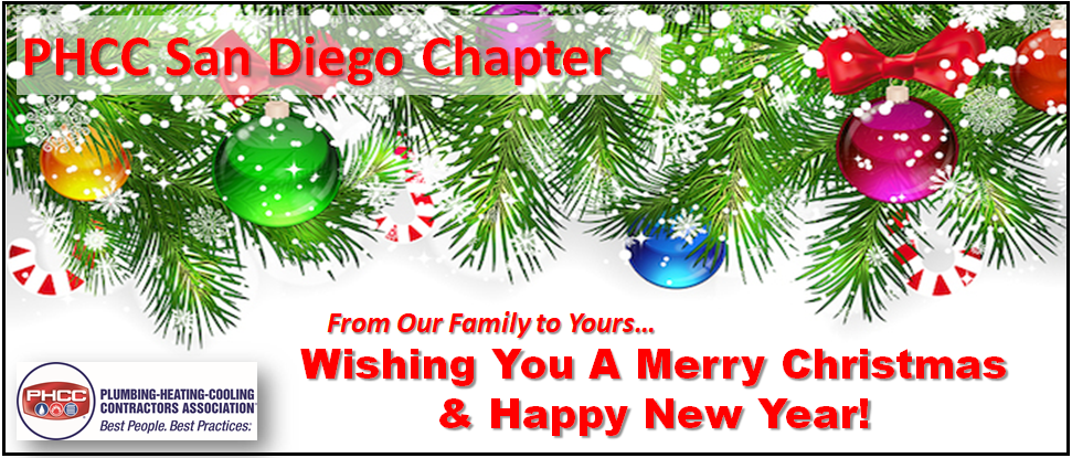 PHCC San Diego Merry Christmas 2018