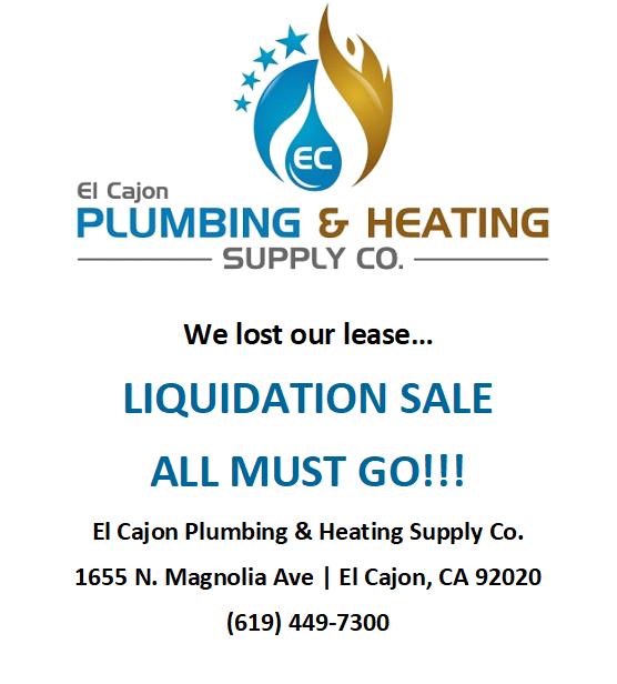 ECPHC Liquidation Sale