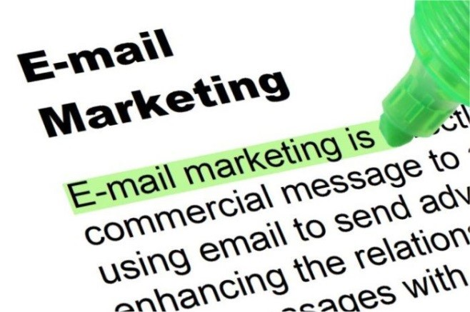 Advertising through email marketing
