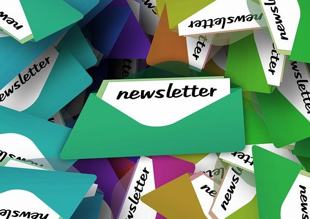 Advertising through newsletter